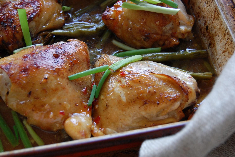 Tamarind chicken thighs